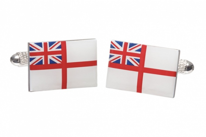 Royal Navy Flag Cufflinks